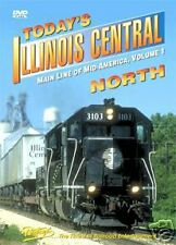 TODAY'S ILLINOIS CENTRAL NORTH VOL 1 DVD PENTREX NEW