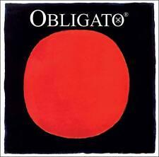 Pirastro Obligato 4/4 Violin String Set-Med-Ball Gold E