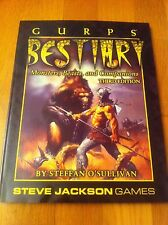 GURPS - BESTIARY 3rd Edition VO - Steve Jackson Games Jeu de Rôle JdR Rpg