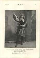 1894 Miss ADA rehan come Viola Eleonora Duse Clement Scott