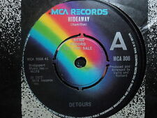 "Detours ""Hideaway"" Great UK PROMO 7"""