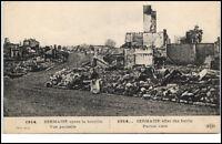 Sermaize France CPA 1914/18 apres la bataille vue Schlacht 1. Weltkrieg Guerre