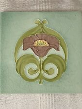 Art Nouveau Tile W S & Co