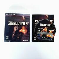 Singularity (PS3, Sony PlayStation 3, 2010) CIB with manual VG