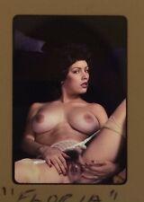 NUDE 35MM TRANSPARENCY SLIDE FEMALE MODEL VINTAGE FINE ART PIN UP PHOTO