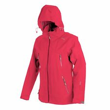 CMP Compagnolo Women's Outdoor Jacket With Hood Pink Colour Size EU 46 - UK 18
