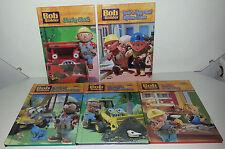 5 Bob the Builder BBC CBeebies hardback books Muck Scoop Dizzy Pilchard