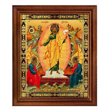 Icone religieuse La Résurrection du Christ Icône religieuse Russe Icône Bénie