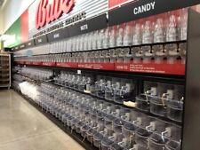 Trade Fixtures Bulk Food (64)Gravity Dispensers+(112)Bins+Madi x Gondola Shelving
