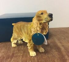 Cocker Spaniel Statue by Leonardo BNIB Cocker Spaniel Ornament Figurine