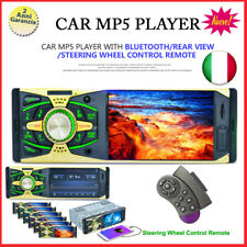 "4.1"" Android 1 DIN Autoradio Car Stereo Bluetooth MP5 Player FM AUX W/Remote USB"
