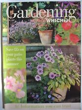 Gardening Which? Magazine. April 1997 Save ££'s on your patio plants this summer