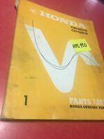 Honda CB125S CD125S CB CD 125 CB125 CD125 S liste catalogue pièces détachées