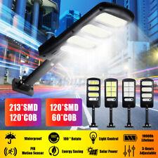 Wall Solar Street Light PIR Motion Garden Road Outdoor Lamp 213 LED SMD COB