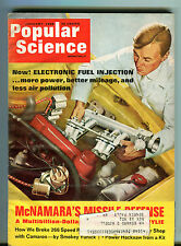 Popular Science Magazine January 1968 Electronic Fuel Injection EX 033116jhe