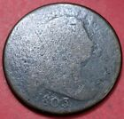 1803 Draped Bust Large Cent AG Coin