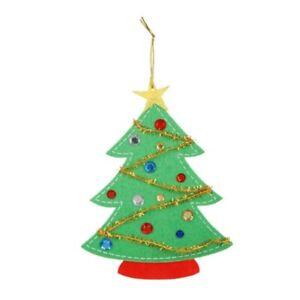 Felties Felt Kids Craft Project Kit Christmas Tree Ornament