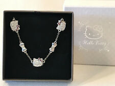 Rare Sanrio Hello Kitty Rhinestone Adjustable Clasp Bracelet, 2009, w/ box