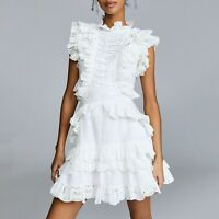 FP about  2019 Womens  Designer Inspired Luxury Cotton Ruffle White High