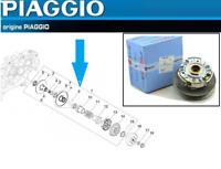 Embrayage Complet CM162403 d'Origine Piaggio X7 X8 X9 125 /X9 125 Evo / Xevo 125