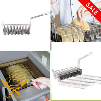 Taco Frying Basket With 8 Slots Commercial Restaurant Cooking Fryer Basket New