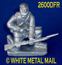 Military Lead Casting LA2600DFR 24th Foot Enlisted Man Kneeling Reloading