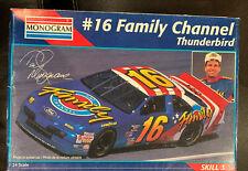 MONOGRAM #16 Family Channel Thunderbird 1/24 Scale # 2465.