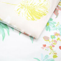 YVES DELORME | ETE DUVET COVER 100% PRINTED COTTON SATEEN 300TC  40% OFF RRP