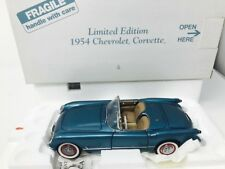 DANBURY MINT LIMITED EDITION 1954 CHEVROLET CORVETTE 1/24 SCALE