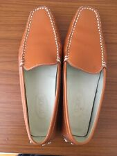 Tods Tan Ladies Loafers Size 41