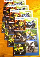 2003 Suzuki Motorcycle Atv Scooter Brochure Lot (4) pcs