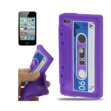 CUSTODIA/Cover Silicone Design Cassetta Custodia per iPod Touch 4
