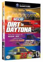 Nascar Dirt To Daytona Nintendo Gamecube Game Complete