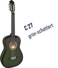 "Gitarre, 4/4, Set-mit Tasche+Gurt-Band+Kapodaster+extra Saiten - mit STIMMGER�""T!"