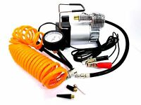 12v Heavy Duty Electric Air Compressor Portable Tyre Inflator Clip Battery AU034
