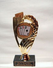 CARD HAND, POKER HAND, CARD HAND TROPHY FREE LETTERING