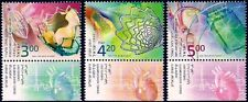 ISRAEL 2013 - ISRAELI ACHIEVEMENTS IN CARDIOLOGY - 3 STAMPS WITH TABS - MNH
