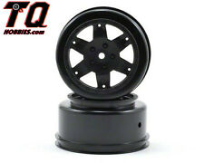 Team Losi TLR7011 Racing Wheel, Black (2): 22SCT Fast SHIPPING+ tracking#