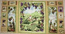 VINEYARD COUNTRY WINE FABRIC GRAPES QUILT FABRIC SOUTH SEAS IMPORTS BTP NEW