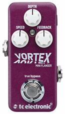 TC Electronic Vortex Mini Flanger Guitar Effect Pedal,Tone Print- Enabled Analog