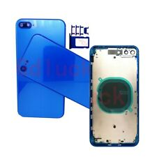 For iPhone 8 8Plus Rear Battery Cover Frame NEW Housing Door Middle Bezel+Button