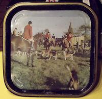 Ancien Plateau Vénerie Casse à cour ( SODIFRANCE , EUROVENTE ) Vintage