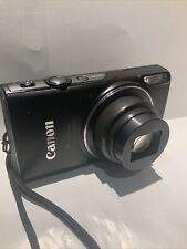 Canon PowerShot ELPH 350 HS Digital Camera Black W/ Battery Charger Memory Card