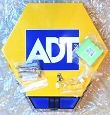NEW STYLE ADT TWIN LED Flashing Solar Decoy Bell Box Dummy Kit + Battery
