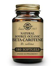 Solgar Natural Source Oceanic Beta Carotene 7mg Softgels - Pack of 180