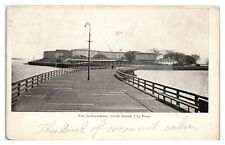 1905 Fort Independence, Castle Island, City Point, Boston, MA Postcard *5Q(2)6