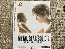 Metal Gear Solid 2 Sleeve Promo Rare