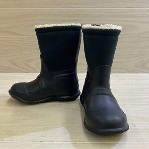 Hunter Original Sherpa Boot, Little Kid's Size 9B / 10G, Navy