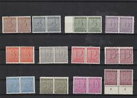 west saxony 1945 mnh stamps   ref 7880