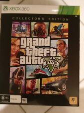 Grand Theft Auto 5 Collectors Edition xbox 360 Aus Rare